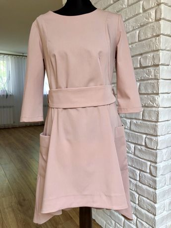 NOWA sukienka, asymetryczna rozm L