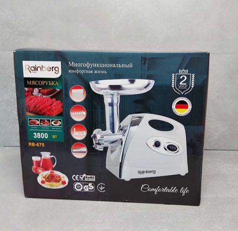 Приготовление мяса, фарша Реинберг / Rainberg Rb675 / электро