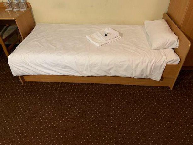 Łóżko jednoosobowe  z materacem 90x100