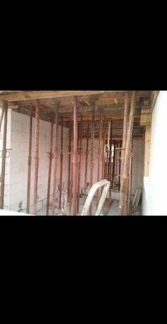 Wynajmę stemple budowlane podpory stropowe