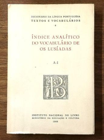 índice analítico do vocabulário de os lusíadas, a-i, 1966
