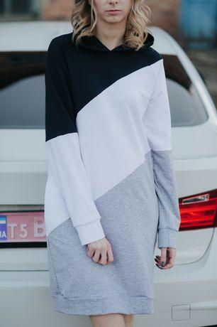 Распродажа. Спортивное женское платье 3-colors. Супер цена