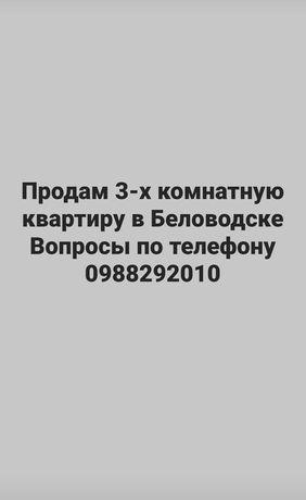 Продам 3-х комнатную квартиру в Беловодске