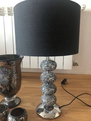 Lampka kielichy wazon komplet