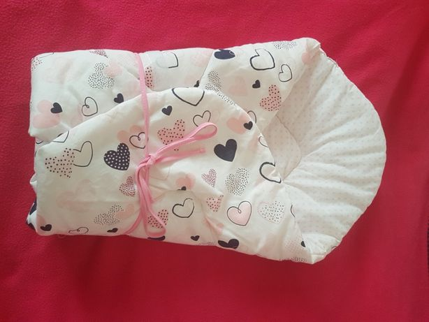 Rożek niemowlęcy +ochraniacz na łóżeczko