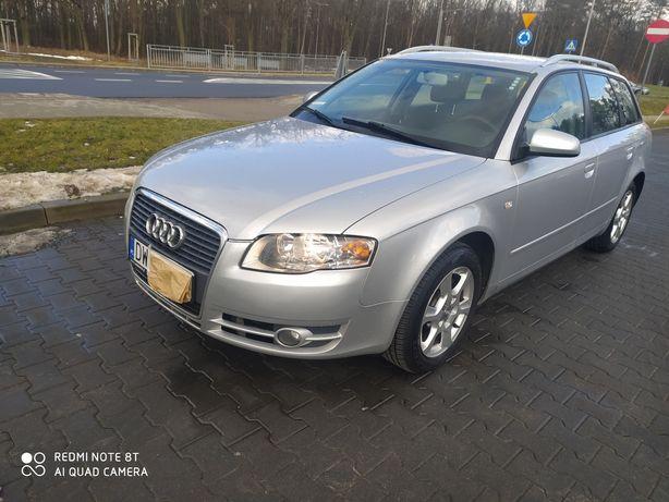 Audi a4 b7 1.9 TDI 2007 piesza rejestracja.