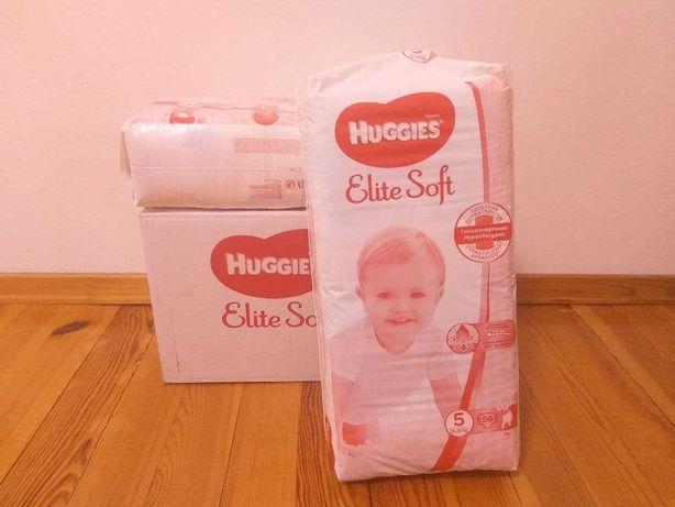 Памперси Huggies Elite Soft 5 12-22 кг 112 шт