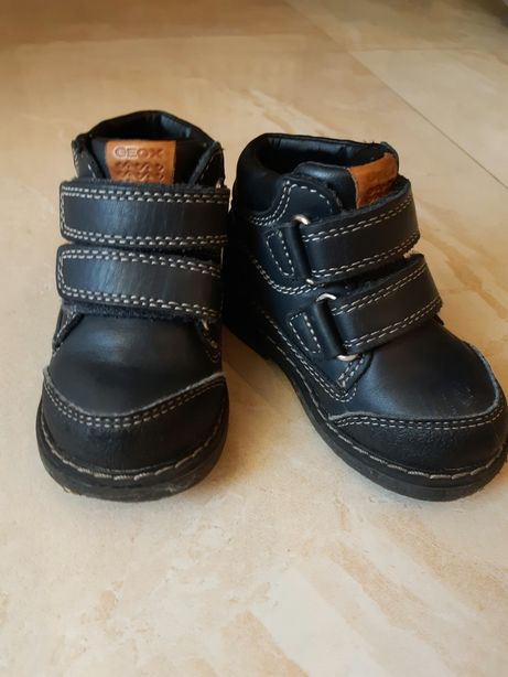 Осенние ботинки geox/джеокс 21 размер. В идеальном состоянии.
