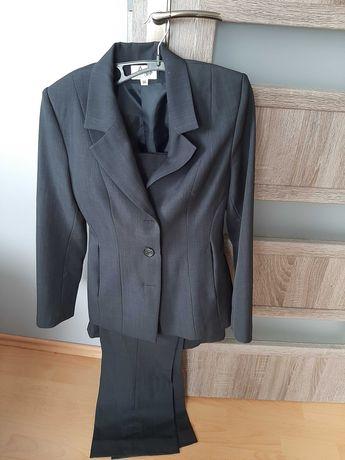 Komplet 3 czēściowy-marynarka+spodnie+spódnica,roz.36