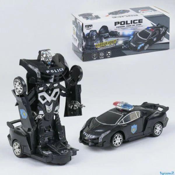 Машина-Трансформер Полиция (8997) свет, звук/ машика полицейская Харьков - изображение 1