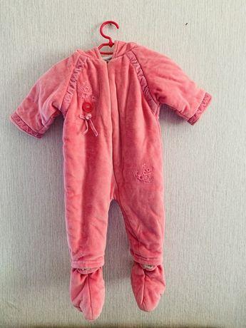 Комбинезон на девочку 6-9 месяцев