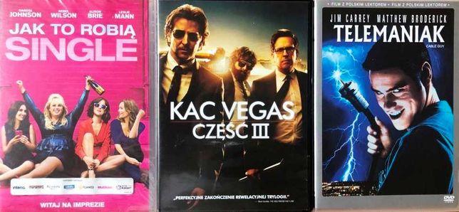 DVD komedie: Jak to robią single, Kac Vegas 3, Telemaniak