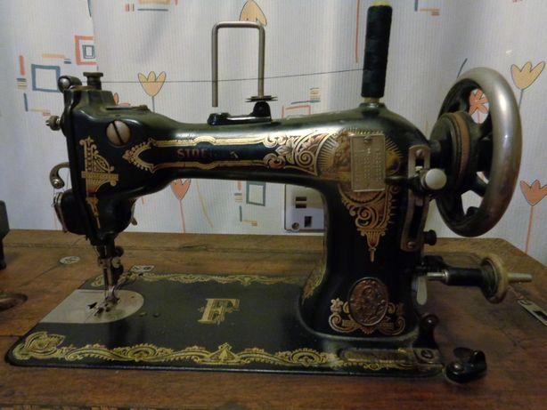 Stara maszyna do szycia Stoewer (ok 1914r)