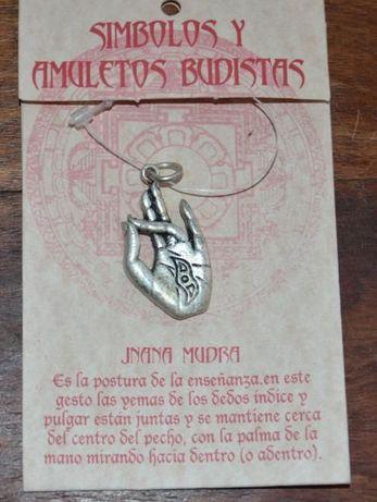 Símbolo Budista Prithvi Mudra - Pendente para Colar