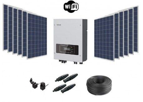 kit de autoconsumo solar dia 13kwh .(sem baterias)