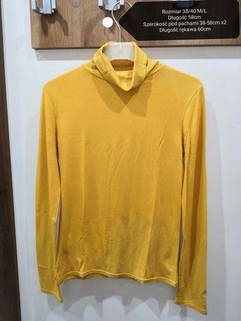 Golf bluzka żółty 38/40 M/L