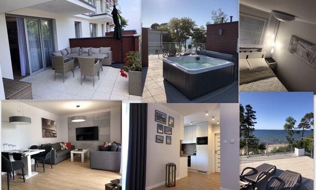 Apartament BD Premium z widokiem na morze noclegi nocleg Rewal