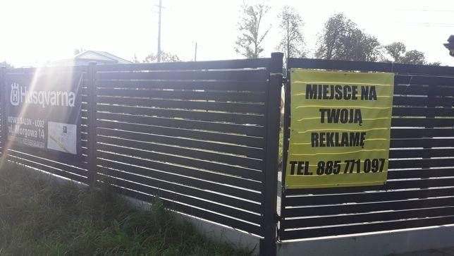 Miejsce na reklamę ulica Zlotno 126