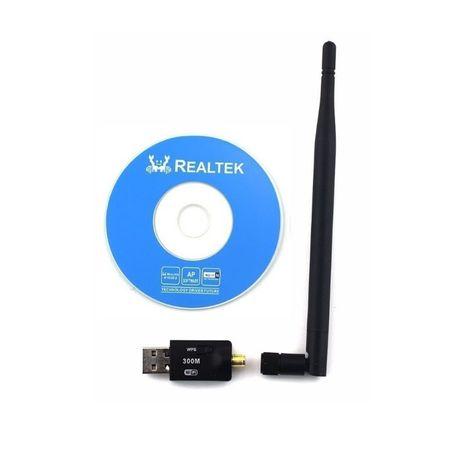 USB WiFi 300 Мбіт/с 5db антена, адаптер на ноут, ПК, на чипе 8192