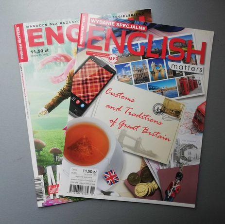 """Magazyn """"English Matters"""" - 6/2013 oraz 8/2013"""