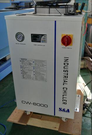 Bomba vácuo CHILLER CW5200 CW6000 compressor TUBO LASER 100W Fonte.