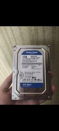 Жесткий диск Western Digital Blue 1TB. Отличное состояние. Смарт фото.