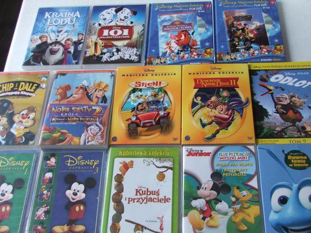 Disney Kolekcja tanio dvd, bajki, Dumbo. Piękna i Bestia, Micki, Dory