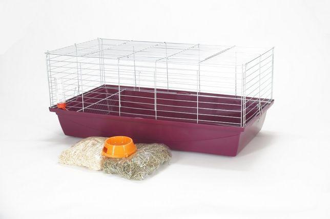 Klatka dla królika świnki 100 cm