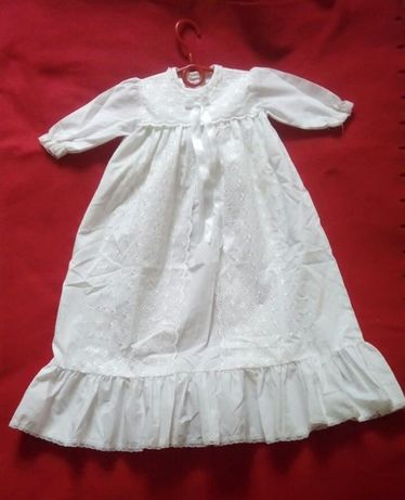 Ubranko do Chrztu sukienka retro