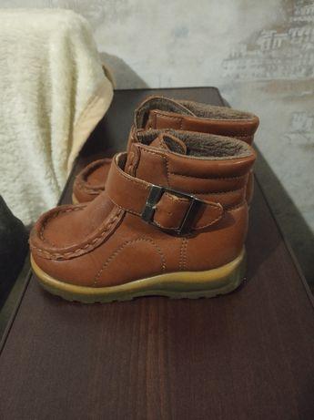 Детские ботинки в хорошем состоянии, 23 р