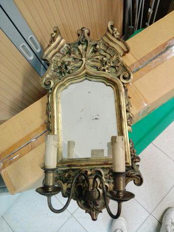 Espelho candeeiro