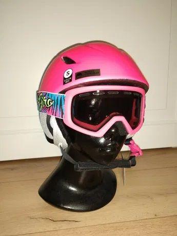 Детский шлем Giro Launch с маской