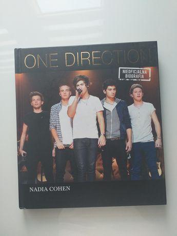 1D One Direction książka, nieoficjalna biografia