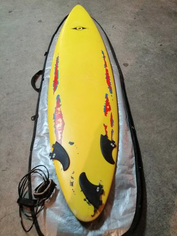 epoxy Malibu 7 Evolution Funboard prancha de surf deck FCS
