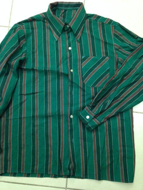 Рубашка мужская ткань плотная