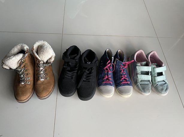 Ботинки осень, зима Geox, ecco 34 р