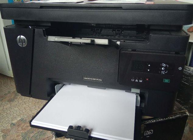 МФУ Принтер HP LaserJet Pro MFP M125a рабочая лошадка