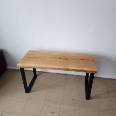 STÓŁ DĘBOWY LITE DRZEWO z jednego MONOLITU,stolik,ława,loft,Blat,