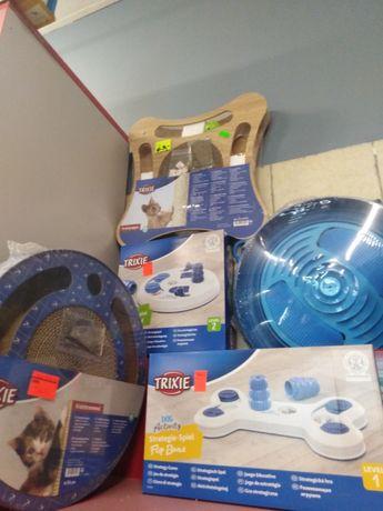Zabawki edukacyjne dla kotków i piesków