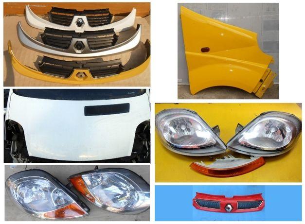 Фара Решетка Крыло Капот Улыбка Renault Trafic Opel Vivaro 01-13г