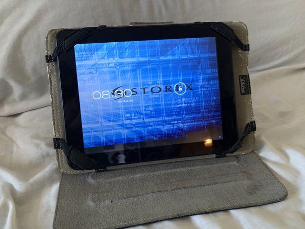 Tablet Storex +capa+carregador