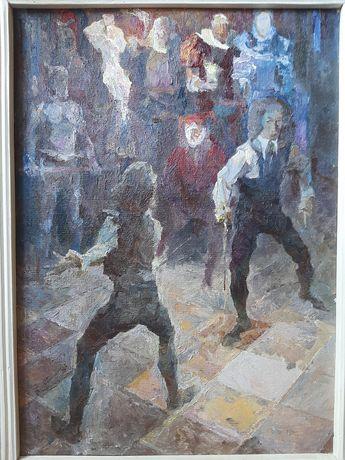 Картина известного художника, картина, антиквариат, коллекция.