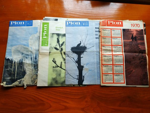 Sprzedam czasopismo Plon rok 1970 stara gazeta antyk zabytek