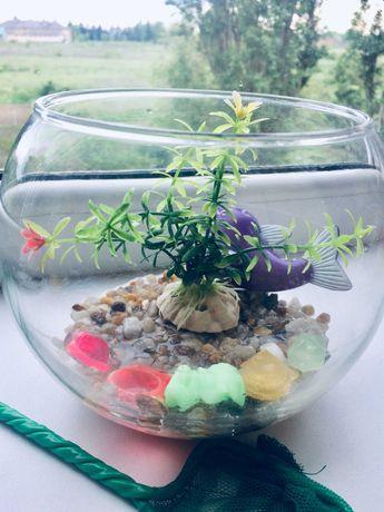 Аквариум круглый 1,5 л (ваза) продам
