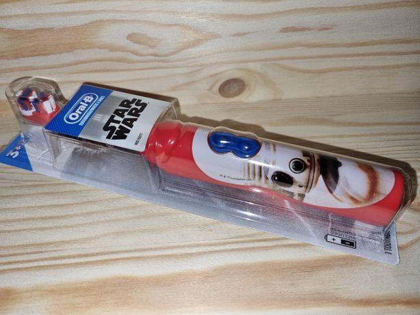 Детская электрическая зубная щётка Oral-B Disney Star Wars