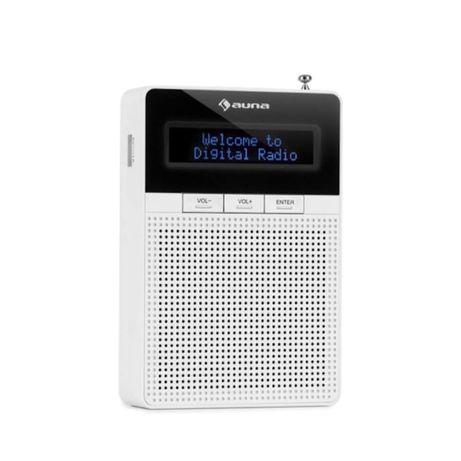 DigiPlug DAB Radio gniazdkowe auna