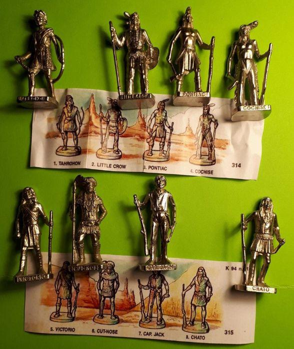 Kinder niespodzianka Metalowe indianie Kolekcja. Łódź - image 1