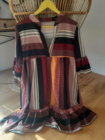 Sukienka uniwersalna multikolor