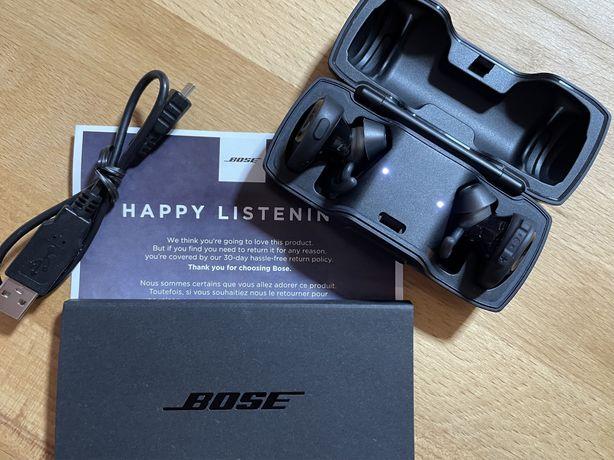 Słuchawki bezprzewodowe BOSE Soundsport Free Black