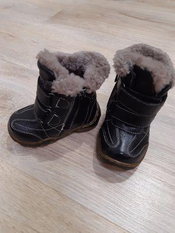Зимние ботинки 22 розмір